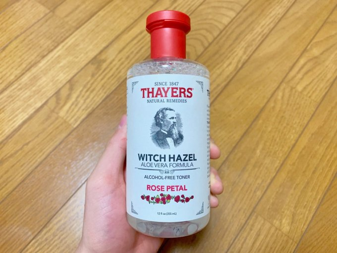 化粧水「セイヤーズ・ウィッチヘーゼル」