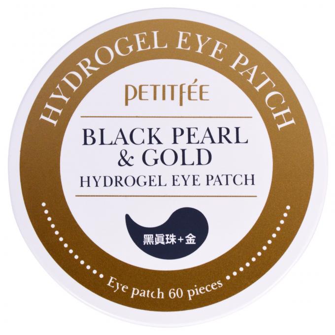 Petitfee ブラックパール&ゴールド ハイドロゲルアイパッチ 60枚