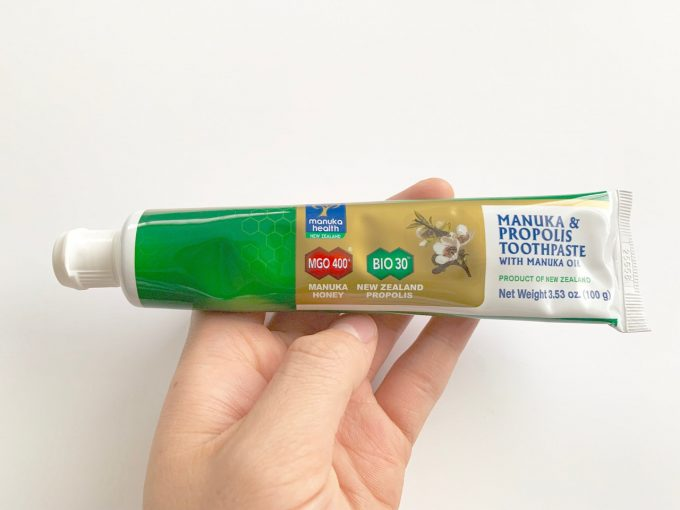 Manuka Health, マヌカオイル配合 マヌカ & プロポリス歯磨き粉